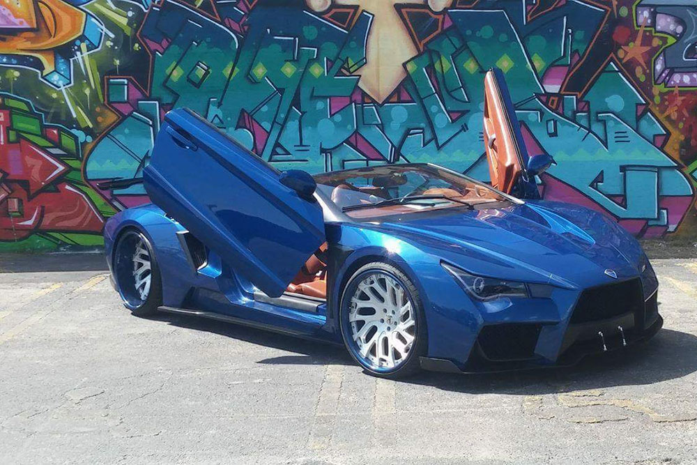 Custom Crafted Vaydor Convertible